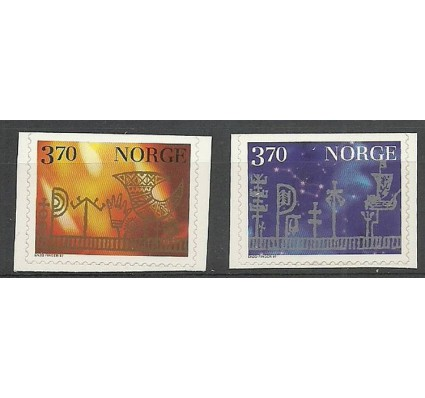 Znaczek Norwegia 1997 Mi 1265-1266Do Czyste **