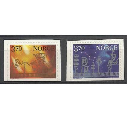 Znaczek Norwegia 1997 Mi 1265-1266DoDu Czyste **