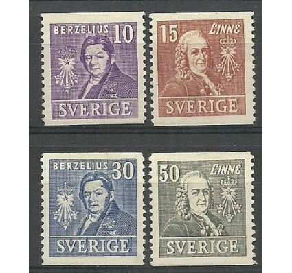 Znaczek Szwecja 1939 Mi 272-275A Z podlepką *