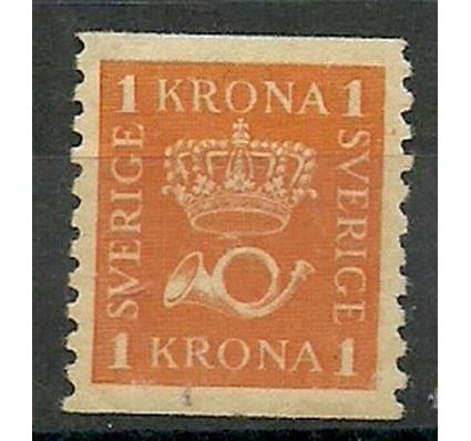 Znaczek Szwecja 1921 Mi 201 Z podlepką *