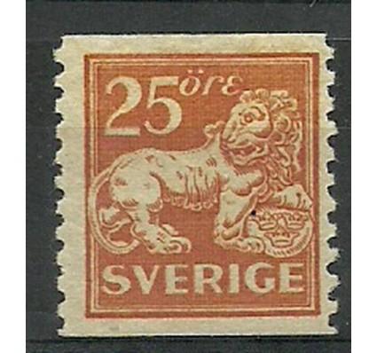 Znaczek Szwecja 1920 Mi 130 Z podlepką *