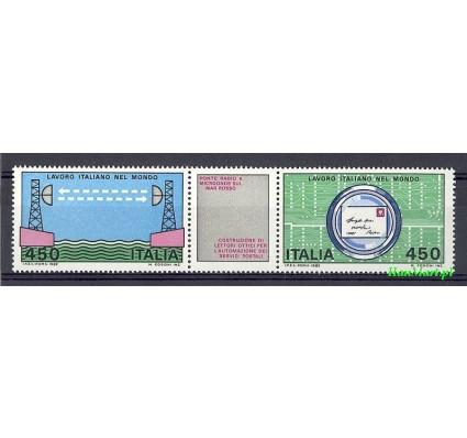 Włochy 1982 Mi 1800-1801 Czyste **
