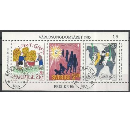 Znaczek Szwecja 1985 Mi bl 13 Stemplowane