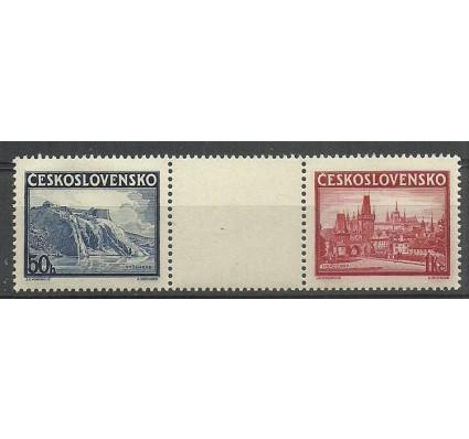 Znaczek Czechosłowacja 1938 Mi 398-399 Czyste **