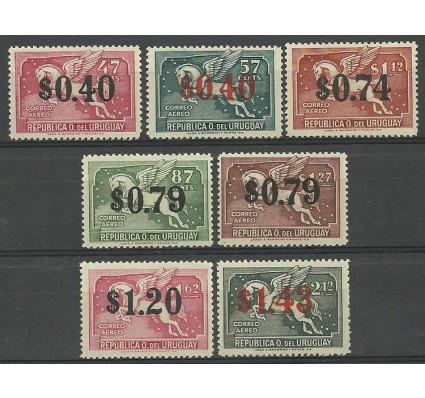Znaczek Urugwaj 1944 Mi 657-663 Czyste **