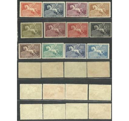 Znaczek Urugwaj 1929 Mi 390-401 Z podlepką *