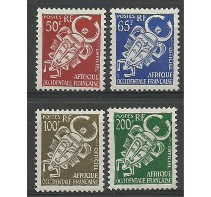 Znaczek Francuska Afryka Zachodnia 1958 Mi die 9-12 Czyste **