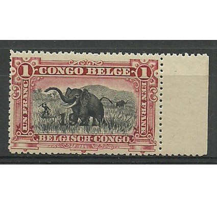 Znaczek Kongo Belgijskie 1921 Mi 52 Czyste **