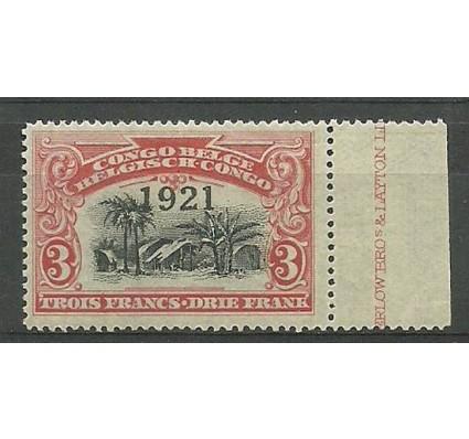 Znaczek Kongo Belgijskie 1921 Mi 53 Czyste **