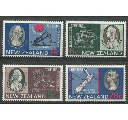 Znaczek Nowa Zelandia 1969 Mi 510-513 Z podlepką *