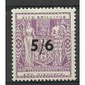 Nowa Zelandia 1939 Mi ste 53 Z podlepką *