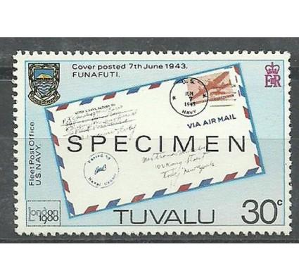 Znaczek Tuvalu 1980 Mi spe 122 Czyste **