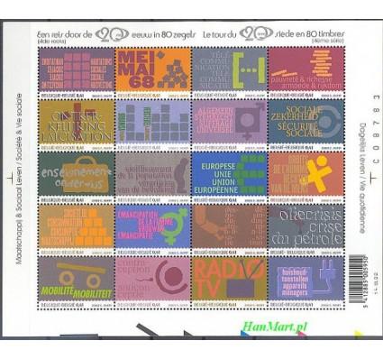 Belgia 2002 Mi ark 3161-3180 Czyste **