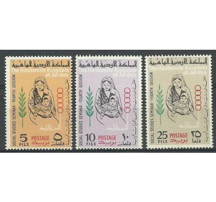 Znaczek Jordania 1964 Mi 446-448 Czyste **