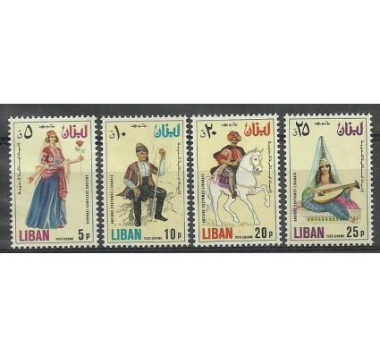 Znaczek Liban 1973 Mi 1171-1174 Czyste **