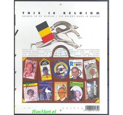 Znaczek Belgia 2004 Mi ark 3284-3293 Czyste **