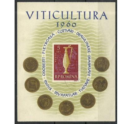 Znaczek Rumunia 1960 Mi bl 48 Stemplowane