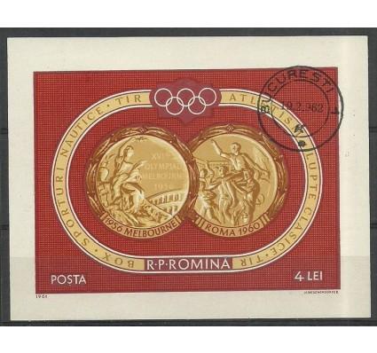 Znaczek Rumunia 1961 Mi bl 50 Stemplowane