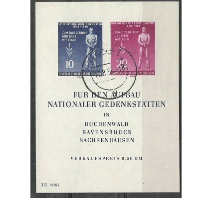 Znaczek NRD / DDR 1955 Mi bl 11 Stemplowane