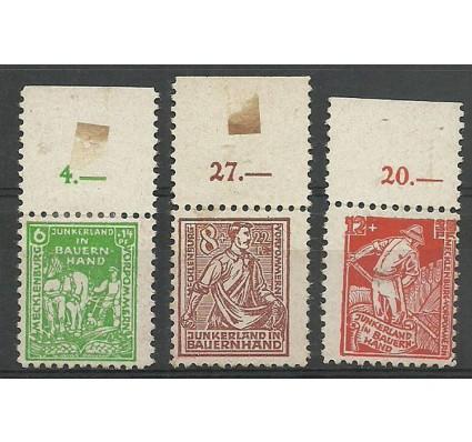 Znaczek Niemcy 1945 Mi opd 23-25 Z podlepką *