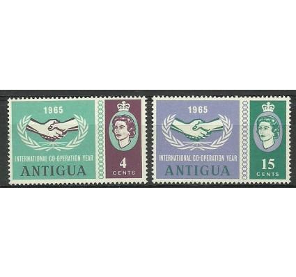 Znaczek Antigua i Barbuda 1965 Mi 144-145 Czyste **