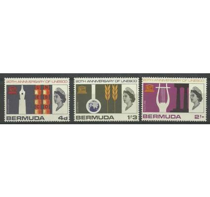 Znaczek Bermudy 1966 Mi 196-198 Czyste **