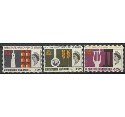 Znaczek Saint Kitts i Nevis 1966 Mi 172-174 Czyste **