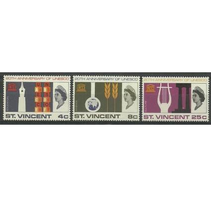 Znaczek St. Vincent 1966 Mi 228-230 Czyste **