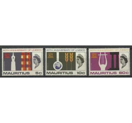Znaczek Mauritius 1966 Mi 291-293 Czyste **