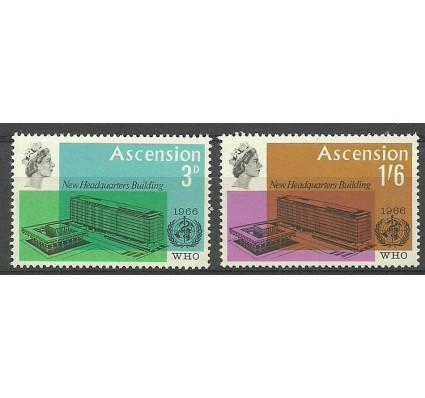 Znaczek Wyspa Wniebowstąpienia 1966 Mi 102-103 Czyste **