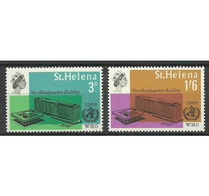 Znaczek Wyspa św. Heleny 1966 Mi 177-178 Czyste **