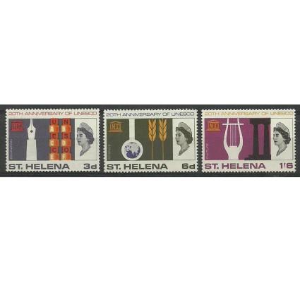Znaczek Wyspa św. Heleny 1966 Mi 179-181 Czyste **