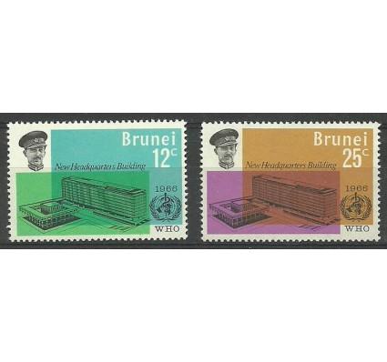 Znaczek Brunei 1966 Mi 118-119 Czyste **