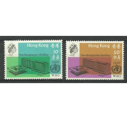 Znaczek Hong Kong 1966 Mi 222-223 Czyste **