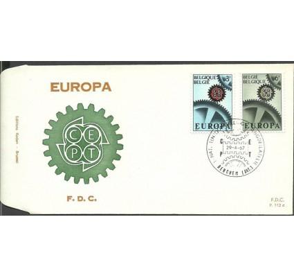 Znaczek Belgia 1967 Mi 1472-1473 FDC