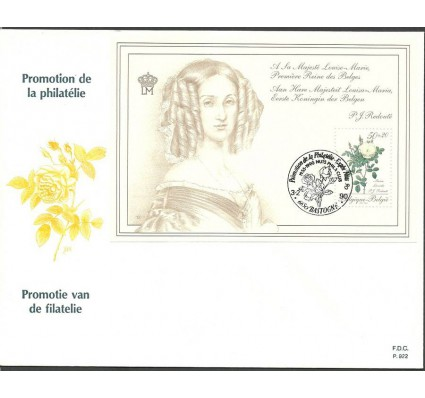 Znaczek Belgia 1990 Mi bl 60 FDC