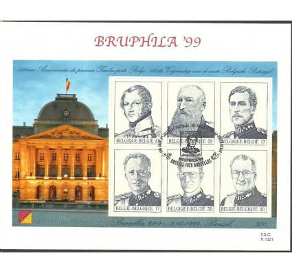 Znaczek Belgia 1999 Mi bl 73 FDC