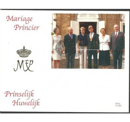 Znaczek Belgia 1999 Mi bl 74 FDC