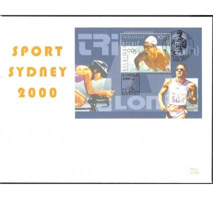 Znaczek Belgia 2000 Mi bl 77 FDC