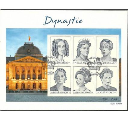 Znaczek Belgia 2001 Mi bl 79 FDC