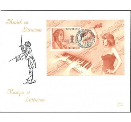 Znaczek Belgia 2001 Mi bl 80 FDC