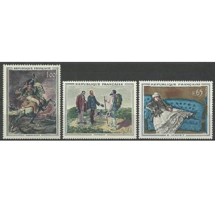 Znaczek Francja 1962 Mi 1415-1417 Z podlepką *
