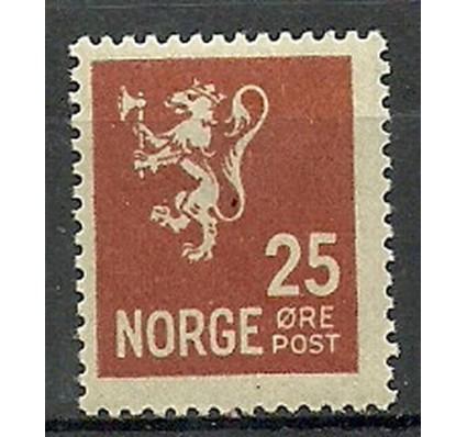 Znaczek Norwegia 1923 Mi 107 Czyste **