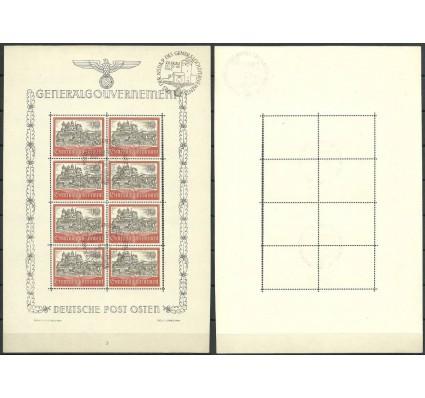 Znaczek Generalna Gubernia / GG 1941 Mi ark 65 Fi ark 65 Stemplowane