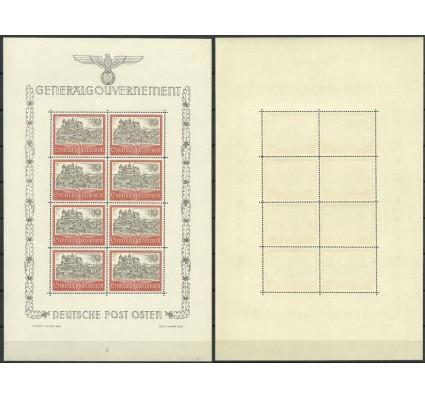 Znaczek Generalna Gubernia / GG 1941 Mi ark 65 Fi ark 65 Czyste **