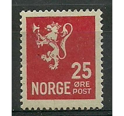 Znaczek Norwegia 1926 Mi 125A Z podlepką *