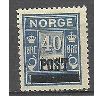 Znaczek Norwegia 1927 Mi 147b Z podlepką *
