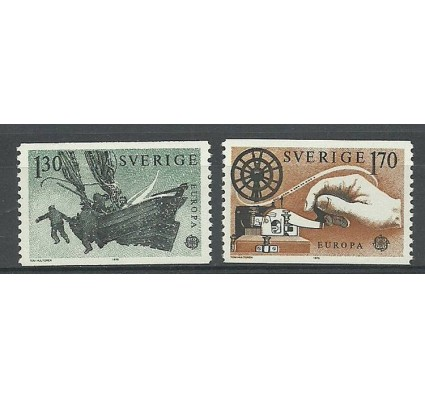 Znaczek Szwecja 1979 Mi 1059-1060 Czyste **