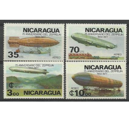 Znaczek Nikaragua 1977 Mi 1981-1984 Czyste **