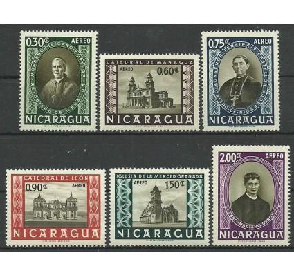Znaczek Nikaragua 1957 Mi 1157-1162 Czyste **